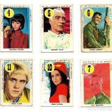 Barajas de cartas: ASES Y ESTRELLAS AMARILLO (FHER 1969) 6 CROMOS, SE VENDEN SUELTOS, CONSULTAR PRECIOS.. Lote 167241196