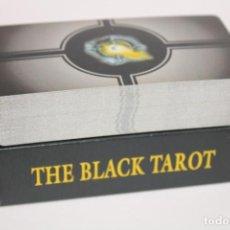 Barajas de cartas: BARAJA DE CARTAS DE TAROT FOURNIER THE BLACK TAROT. Lote 203894318