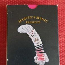 Barajas de cartas: BARAJA PARA MAGOS MARVIN'S MAGIC. Lote 203895861