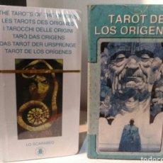 Barajas de cartas: TAROT DE LOS ORÍGENES. LO SCARABEO. NUEVO.. Lote 203915428