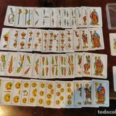 Barajas de cartas: NAIPES COMAS : ANTIGUA BARAJA DE NAIPES CARTAS EN MINIATURA COMPLETA N.E.G.S.A BARCELONA 50 CARTAS. Lote 203916258