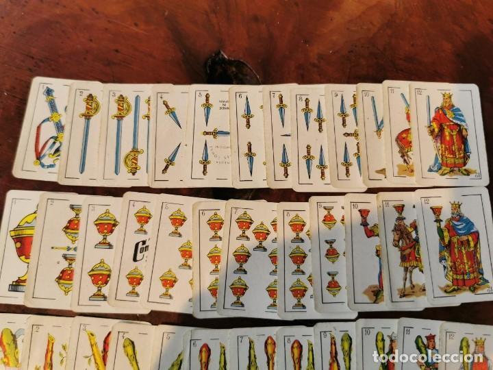 Barajas de cartas: NAIPES COMAS : ANTIGUA BARAJA DE NAIPES CARTAS EN MINIATURA COMPLETA N.E.G.S.A BARCELONA 50 CARTAS - Foto 2 - 203916258