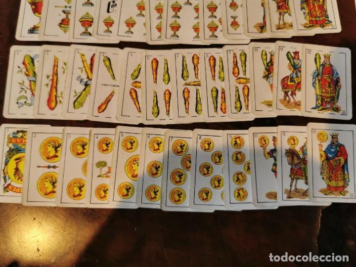 Barajas de cartas: NAIPES COMAS : ANTIGUA BARAJA DE NAIPES CARTAS EN MINIATURA COMPLETA N.E.G.S.A BARCELONA 50 CARTAS - Foto 3 - 203916258