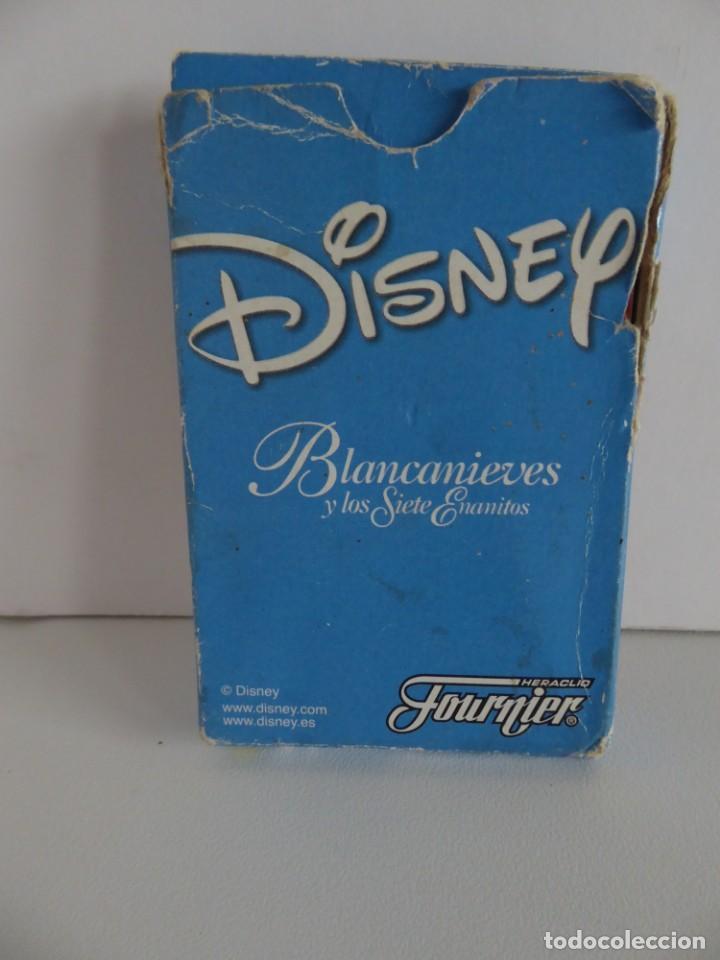 Barajas de cartas: BARAJA INFANTIL BLANCANIEVES - DISNEY - FOURNIER - Foto 2 - 203919998