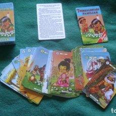 Barajas de cartas: RARA BARAJA INFANTIL 7 FAMILIAS VASCA EDITADA POR FOURNIER REF 2 HERRIALDDETAKO FAMILIAK. Lote 204181922
