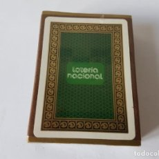 Barajas de cartas: BARAJA DE CARTAS - LOTERIA NACIONAL - FOURNIER - 1974. ¡¡¡NUEVA, PRECINTADA!!!!!. Lote 204312872