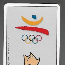 Jeux de cartes: BARAJA ESPAÑOLA JUEGOS OLIMPICOS DE BARCELONA COOB'92, COBI 1988, PRECINTADA. Lote 204406686