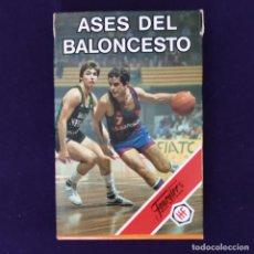 Barajas de cartas: BARAJA INFANTIL FOURNIER. ASES DEL BALONCESTO. 33 CARTAS. AÑO 1985. NUEVA. SIN USAR.. Lote 204426002