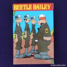 Barajas de cartas: BARAJA INFANTIL FOURNIER. BEETLE BAILEY. 32 CARTAS. AÑO 1974. NUEVA. SIN USAR. Lote 204427072