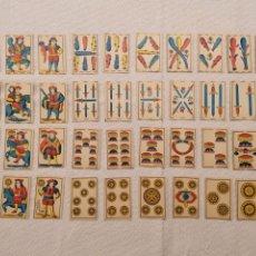 Barajas de cartas: BARAJA MUY ANTIGUA,. Lote 204470537