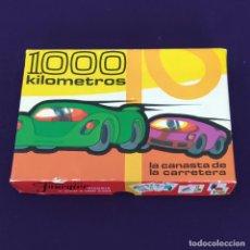Barajas de cartas: BARAJA INFANTIL 1000 KILOMETROS. COMPLETA. LA CANASTA DE LA CARRETERA. NAIPES FOURNIER. 1966.. Lote 204537118