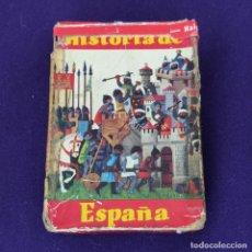 Barajas de cartas: BARAJA INFANTIL FOURNIER. HISTORIA DE ESPAÑA. COMPLETA. 48 CARTAS. AÑO 1964.. Lote 204544993