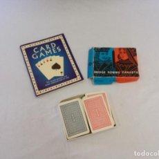 Baralhos de cartas: JUEGO DE CARTAS EN SU CAJA ORIGINAL. Lote 204663432