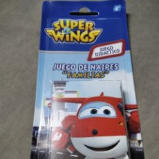 Barajas de cartas: BARAJA DE CARTAS NAIPES SUPER WINGS FOURNIER. Lote 204766438