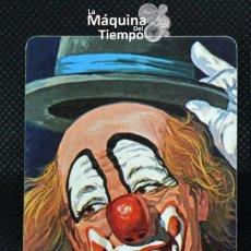 """Mazzi di carte: CARTA PAYASO 1 DE LA BARAJA INFANTIL """"EL CIRCO"""" (REVERSO HF ROJO). HERACLIO FOURNIER. AÑOS 70.. Lote 204833288"""