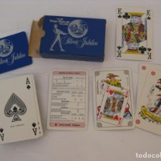 Barajas de cartas: THE TOP RANK CLUB - 25 SILVER JUBILEE - COMPLETA. Lote 204995791