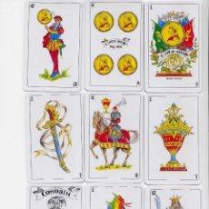 Barajas de cartas: BARAJA ESPAÑOLA DE LAS CINCO JOTAS. Lote 205046267
