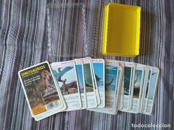 Barajas de cartas: BARAJA DE CARTAS DINOSAURIOS Y ANIMALES PREHISTÓRICOS, ED- SAFARI LIMITED, COMPLETA - Foto 2 - 205119371
