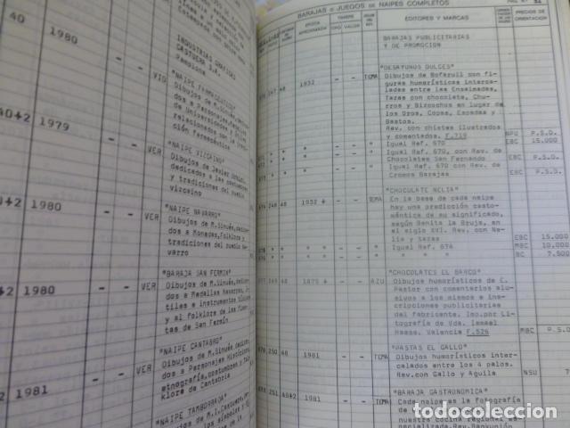 Barajas de cartas: BARCELONA 1984 CATALOGO DE BARAJAS Y NAIPES - Foto 5 - 205134332