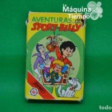 Jeux de cartes: BARAJA DE CARTAS INFANTILES AVENTURAS DE SPORT-BILLY. COMPLETA. HERACLIO FOURNIER. AÑO 1981.. Lote 205172530