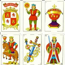 Barajas de cartas: BARAJA ESPAÑOLA CASTELLANA. Lote 205197515