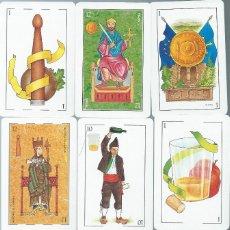 Barajas de cartas: BARAJA CARTES ASTURIANESDE EDICIONES ALBORA -AÑO 1992. Lote 205248278