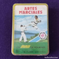 Barajas de cartas: BARAJA INFANTIL. LOS MINIS DE FOURNIER. ARTES MARCIALES. SIN USAR. COMPLETA. 1978. Lote 205277308