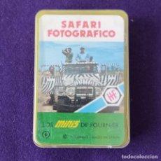 Barajas de cartas: BARAJA INFANTIL. LOS MINIS DE FOURNIER. SAFARI FOTOFRAFICO. SIN USAR. COMPLETA. 1978. Lote 205277715