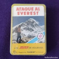 Barajas de cartas: BARAJA INFANTIL. LOS MINIS DE FOURNIER. ATAQUE AL EVEREST. SIN USAR. COMPLETA. 1978. Lote 205277830