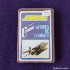 Jeux de cartes: BARAJA INFANTIL NAIPES COMAS. MINICART. AVIONES DE COMBATE. SIN USAR.. Lote 205279381