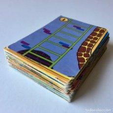 Barajas de cartas: BARAJA DE CARTAS - EL JUEGO DE LA ESCALERA DE BRUGUERA - INCOMPLETA - AÑOS 70. Lote 205374150