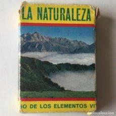 Barajas de cartas: BARAJA DE CARTAS - LA NATURALEZA - COMPLETA - AÑOS 70. Lote 205374382