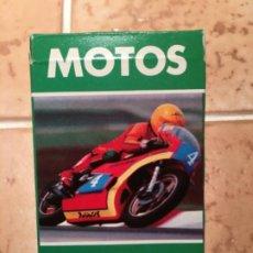 Baralhos de cartas: BARAJA MOTOS DE CARRERAS - AÑO 1980. Lote 222297763