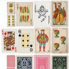 Barajas de cartas: LOTE VARIADO DE 95 CARTAS O NAIPES PARA COMPLETAR BARAJAS O REPONER. Lote 205475900