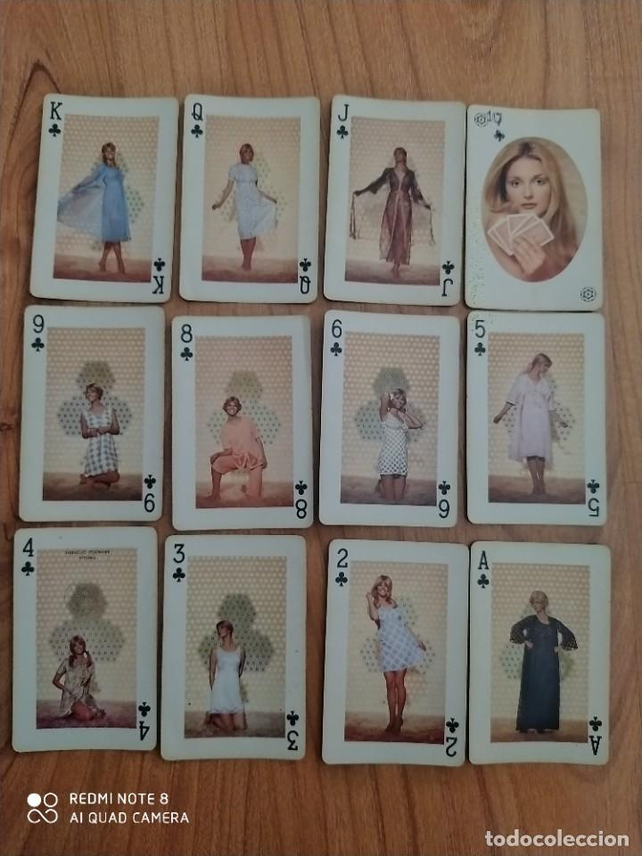 """Barajas de cartas: Antigua baraja cartas de poker KINSON """"juegue con la moda interior"""" - Foto 5 - 205545398"""