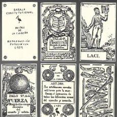 Barajas de cartas: BARAJA CONSTITUCIONAL REPRODUCCION FOTOESTÁTICA. NAIPES DE LA CIGÜEÑA, AÑO 1989. NUEVA.. Lote 205557585
