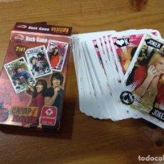 Barajas de cartas: BARAJA DE CARTAS CAMP ROCK, CARTAMUNDI, DISNEY. Lote 205571478