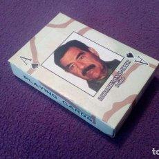 Barajas de cartas: BARAJA DE CARTAS - SADDAN HUSAYN AL-TIKRITI PRESIDENT. Lote 205575925