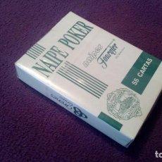 Jeux de cartes: BARAJA DE CARTAS NAIPE POKER FOURNIER VITORIA - PUBLICIDAD CASINOS. Lote 205580233