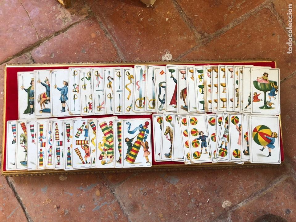 Barajas de cartas: BARAJA DE CARTAS DE CHOCOLATES ROMERO BENICARLÓ 1950's- REVERSO JUGADORES FUTBOL (COMPLETA) - Foto 2 - 205585318