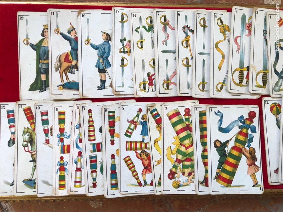 Barajas de cartas: BARAJA DE CARTAS DE CHOCOLATES ROMERO BENICARLÓ 1950's- REVERSO JUGADORES FUTBOL (COMPLETA) - Foto 3 - 205585318