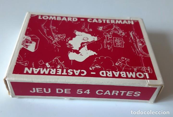 TINTIN - BARAJA FRANCESA - LOMBARD / CASTERMAN - NUEVAS (Juguetes y Juegos - Cartas y Naipes - Otras Barajas)