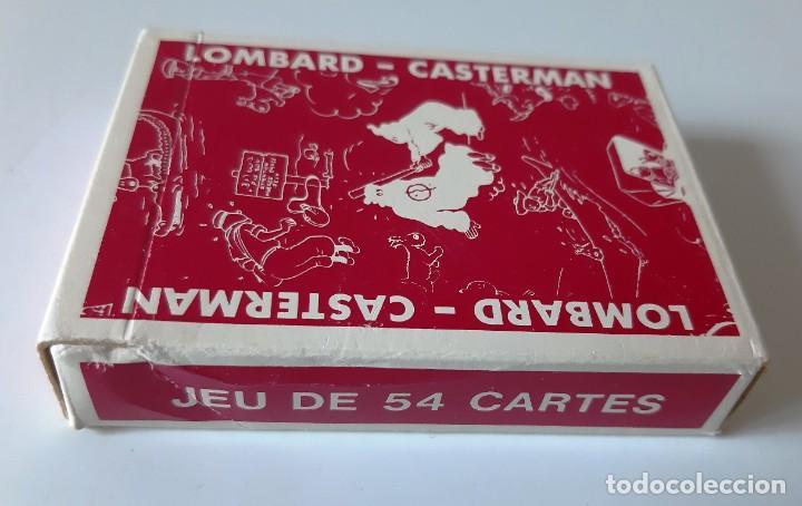 Barajas de cartas: TINTIN - BARAJA FRANCESA - LOMBARD / CASTERMAN - NUEVAS - Foto 3 - 205598378