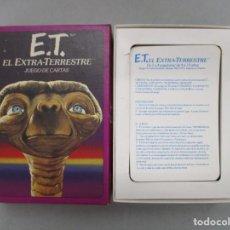 Barajas de cartas: ET / EL EXTRATERRESTRE / JUEGO DE CARTAS COMPLETO CON INSTRUCCIONES. Lote 205700323