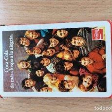 Barajas de cartas: BARAJA CARTAS COCA COLA SIN USO. Lote 205723421