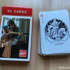 Jeux de cartes: BARAJA CARTAS COCA COLA COMPLETA. Lote 205724112