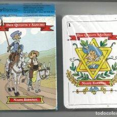 Barajas de cartas: BARAJA CARTAS *DON QUIJOTE Y SANCHO* - PRECINTADA, VARITEMAS. Lote 205817772