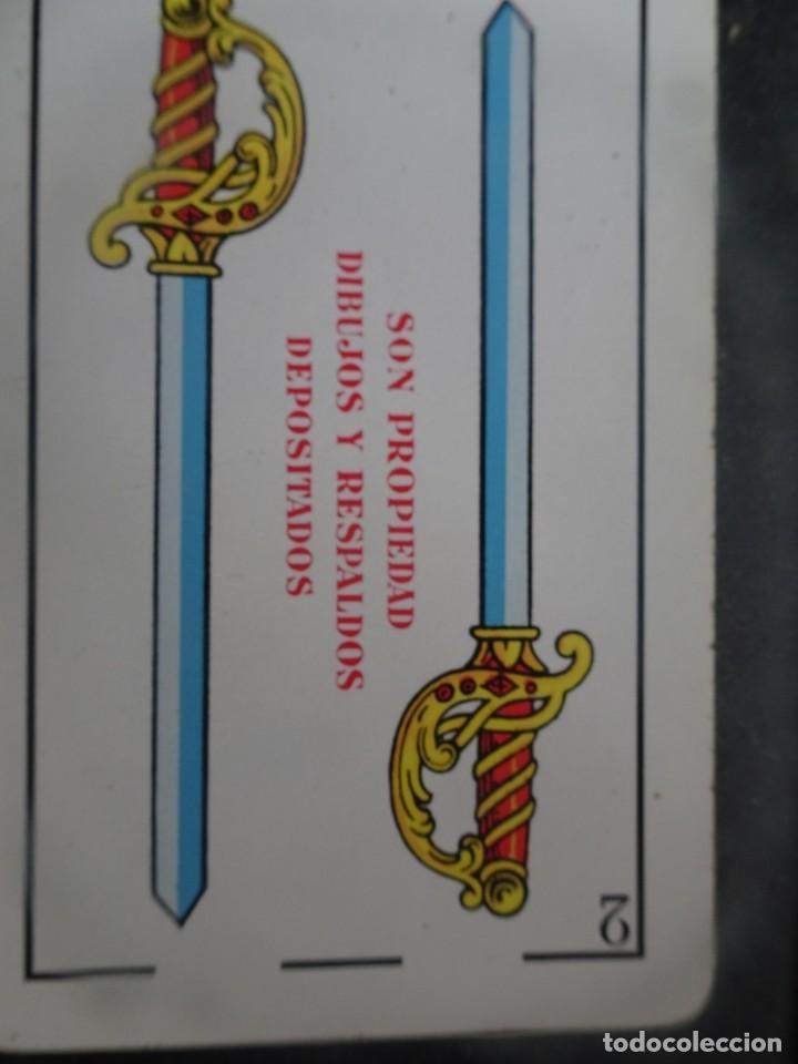 Barajas de cartas: ANTIGUA BARAJA DE NAIPES OPACO MARFIL, Nº1 50 CARTAS, FOURNIER , VER FOTOS - Foto 4 - 205832613