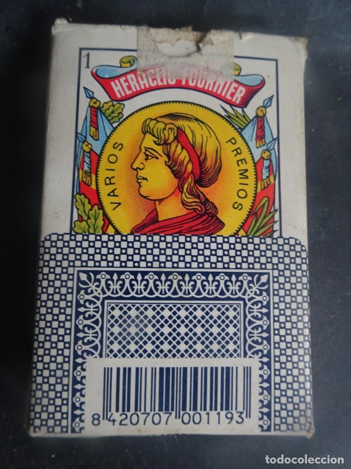 Barajas de cartas: ANTIGUA BARAJA DE NAIPES OPACO MARFIL, Nº1 50 CARTAS, FOURNIER , VER FOTOS - Foto 9 - 205832613