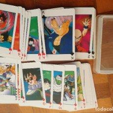 Barajas de cartas: BARAJA DE POKER DRAGON BALL Z CALENDAR LV2349 COMPLETA 54 CARTAS. Lote 205856445